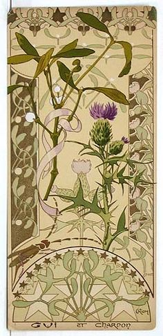 Art Nouveau Rare French floral portfolio 'Etudes de Fleurs' by Riom Design Art Nouveau, Art Design, Illustration Art Nouveau, Botanical Illustration, Jugendstil Design, Inspiration Art, Arts And Crafts Movement, Botanical Prints, Illustrations