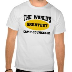 Greatest camp-counselor shirt