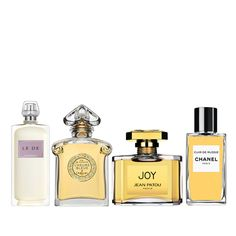 """Rule #5: Play With Perfume... - """"Even before I developed my own scents, I was a very loyal perfume user. For the last 50 years -- since I was about 15 -- I used only 4 or 5 fragrances: Le De Givenchy, L'Heure Blue by Guerlain, Joy by Jean Patou, Chanel's Cuir De Russie and Tabu when I was a teenager."""""""