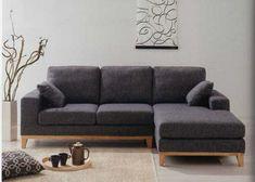 くつろぎ感のあるカウチソファ Living Room Sofa Design, Living Room Decor, L Shaped Sofa Designs, Tiny Living Rooms, Scandinavian Furniture, Moroccan Decor, Classic Furniture, Bedroom Storage, Home Hacks