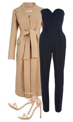 """""""Untitled #228"""" by rhiannonkennedy ❤ liked on Polyvore featuring Carven, Yves Saint Laurent and Stuart Weitzman"""