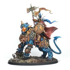Showcase: Stormcast Eternals Lord-Celestant on Dracoth - Tale of Painters