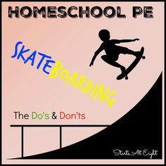 Homeschool PE can be fun and easy you just have to think outside the box. For…
