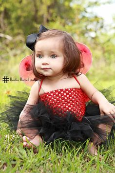 Adorable lady bug outfit