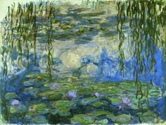 Claude Monet - Nymphéas (Seerosen)