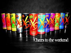 XS ENERGY DRINKS: Think twice before you pick up your next Red Bull! XS Energy drinks have zero sugar, zero carbs, and only 8 calories! Some flavors even come caffeine free! How does it give you energy? The 4,900% Vitamin B12 uses the food already in your body and converts it to energy. Choose XS Energy Drinks next time you need a quick burst of energy!