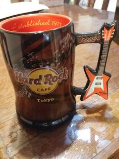 Hard Rock Beer Mug!