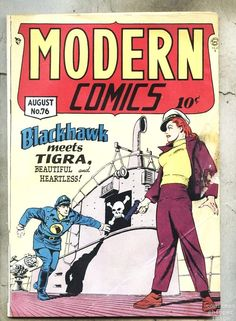 Modern Comics #76-1948 vg/gd Blackhawk / Torchy / Bill Ward | eBay