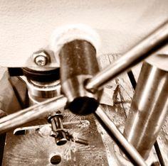 Our drilling machine at Nairobi workshop www.adeledejak.com