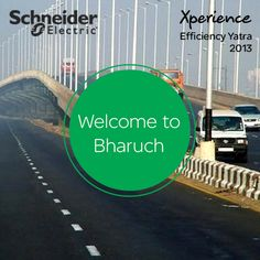 The Xperience Efficiency Yatra is going to be in the city of Bharuch tomorrow! Come register to meet our industry experts to discuss your energy needs. How many of you know Bharuch is situated by which river? www.schneider-electric.com/xe50city/in
