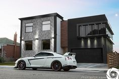 my dream house and car situation