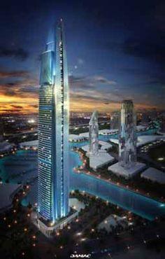 DAMAC: en Dubái apartamentos de lujos decorados por Fendi Casa
