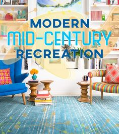 I think I just visited my childhood--Mom Loved Danish Modern! Modern Mid-Century Recreation | dotandbo.com