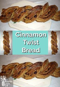 Cinnamon Twist Bread is a fun variation on cinnamon rolls or cinnamon buns. Cinnamon Twists, Cinnamon Bread, Cinnamon Rolls, How To Make Bread, Food To Make, Buttermilk Banana Bread, Sweet Dough, Bread Ingredients, Easy Baking Recipes