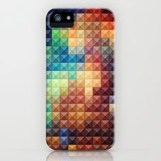 Studdeds IX iPhone & iPod Case by Rain Carnival - $35.00 #iphone #samsung #case #skin #stud #studded #colorful