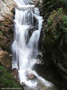 Lapos waterfall, Bicaz Gorges, Transylvania