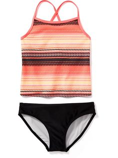 Printed Tankini Swim Sets for Girls Product Image