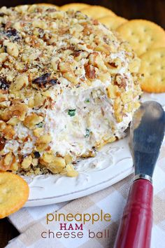 If you're looking for the most delicious game day snack, this Pineapple Ham Cheese Ball recipe is your answer. The sweet, salty, savory snack…