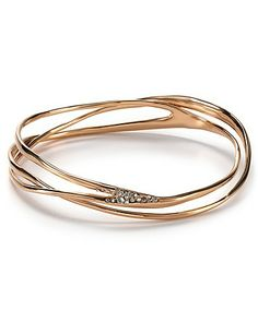 Alexis Bittar Pave Wave Bangle | Bloomingdale's
