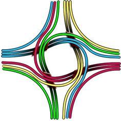 4-road Pinavia junction