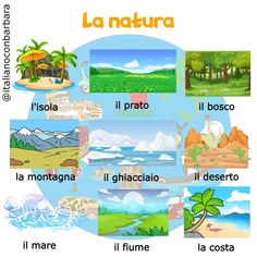 Language, Italian Language, Environment, Languages, Naturaleza, Animales, Learning Italian, Language Arts