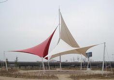 PTFE Coated Fiberglass Architectural Membrane Material (ZBMC)