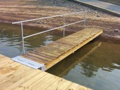 Build a diy boat dock diy pinterest boat dock boating and check diy boat dock ramp kit floating or fixed solutioingenieria Image collections
