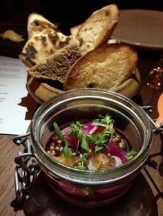 Chicken Liver Mousse at Central Kitchen in SF