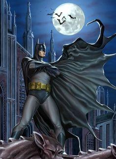 Batman, by Caio Cacau.