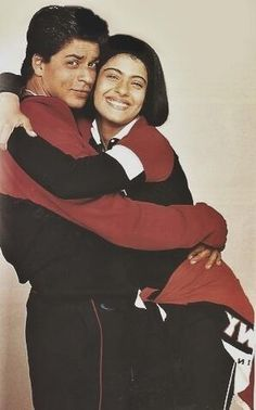 Shah Rukh and Kajol in KKHH.