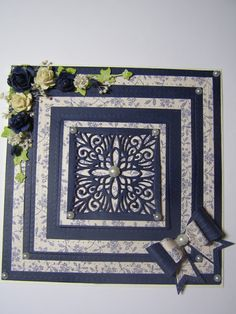 Good Morning Ladies, Today Sue and I are off to Pat's to craft, so I am looking forward to that very much. I am sharing with you to. Good Morning Ladies, Sue Wilson Dies, Spellbinders Cards, Birthday Cards For Women, Flip Cards, Hobbies And Crafts, I Card, Projects To Try, Decorative Boxes