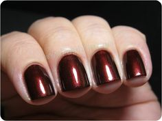 Brown Eyed Girl: quest for the perfect red/brown polish