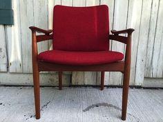 Finn Juhl model 192 teak chair