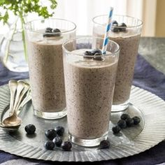 Coconut-Blueberry Green Smoothie - EatingWell.com