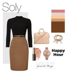 """""""Soly:🍁"""" by solyslstore ❤ liked on Polyvore featuring Valas, Phase Eight, Bobbi Brown Cosmetics and Olivia Burton"""