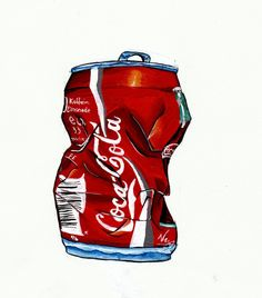 Coke cans, coke, coca cola. Pepsi, Coca Cola, Picky Eater Lunch, Sweet Wrappers, Coke Cans, A Level Art, Weights For Women, Kids Nutrition, Realistic Drawings