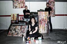 TSP, mix sinestésico de electrónica y action painting   NEX Valladolid