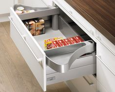 Ramasse couverts orgatray prenium 2 hettich disponible for Plateau escamotable cuisine