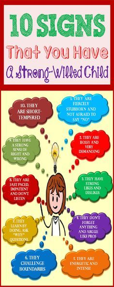 10 Signs That You Have A Strong-Willed Child