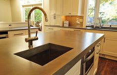 Weighing the pros & cons of polished concrete | The great countertop debate pt. 3 - The Dreamhouse Project