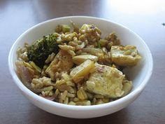 Thai Fried Pineapple Rice with Tofu | Vegan Nom Noms