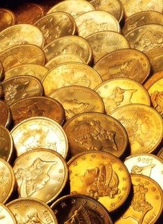 Gold Double Eagle coins