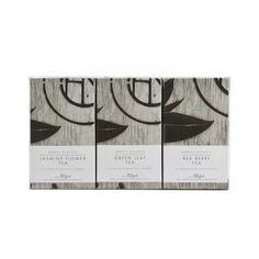 tea packaging by Harvey Nichols