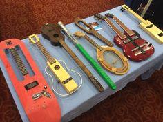 Crazy ukuleles