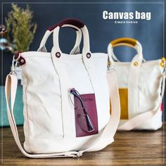 70c200327e Eco-friendly Solid Canvas Shoulder Bags Letter Women Environmental Shopping  Bag  fashion  clothing  shoes  accessories  mensaccessories  bags (ebay  link)