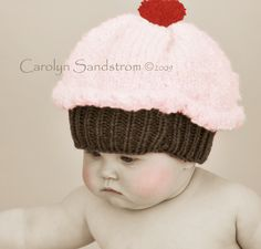 Oh Jodi- have you seen this??!!  :)baby cupcake hat