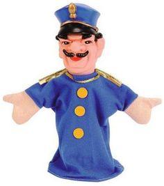 Simba Poppenkastpop Politie AgentDappere Politie Agent voor in de spannendste poppenkast verhalen. Deze Simba Poppenkastpop Politie Agent is ongeveer 20 cm