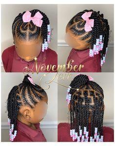 Toddler Braided Hairstyles, Toddler Braids, Black Kids Hairstyles, Natural Hairstyles For Kids, Baby Girl Hairstyles, Short Hairstyles, Wedding Hairstyles, Children Hairstyles Girls, African Hairstyles For Kids