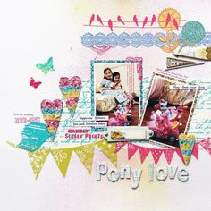 How many colors can you use on a layout? I love it!