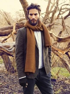 A great look for cool breezy mornings in the Fall.